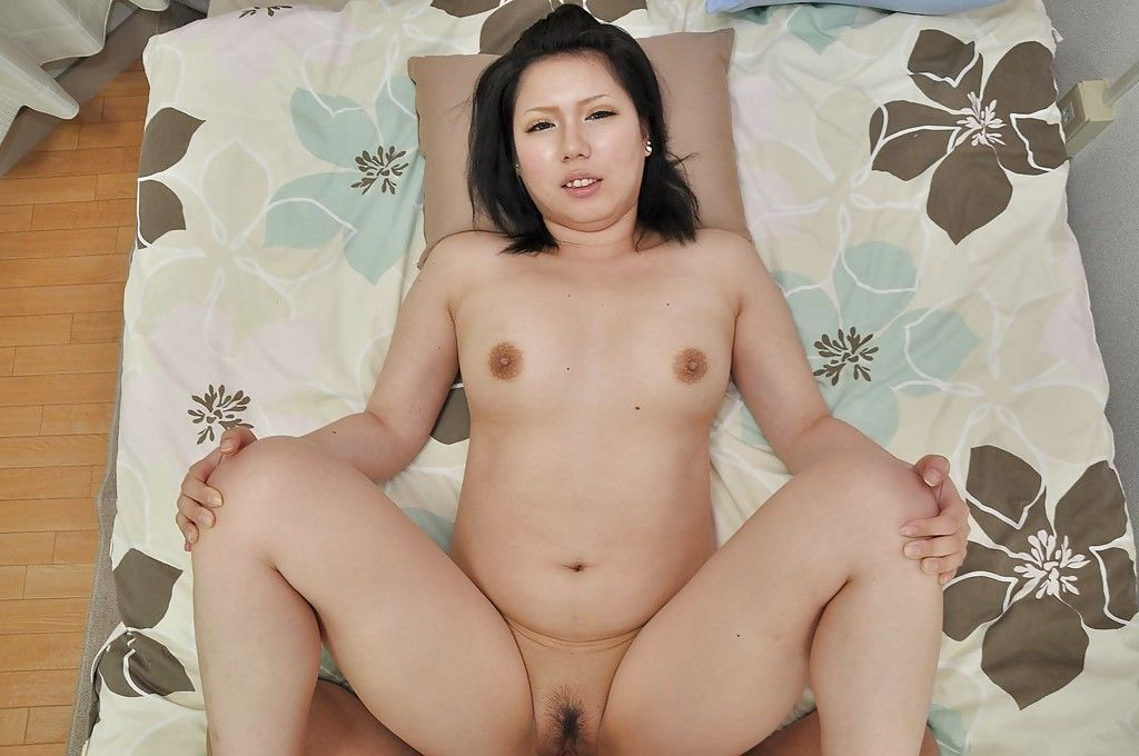 Asian MILF Aya Uchiyama gets her hairy cunt pumped and creampied - part 2