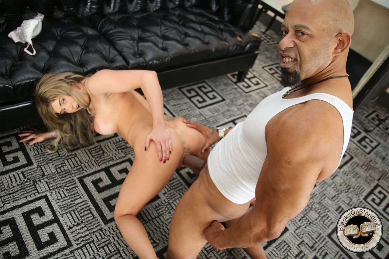 Dirty blonde girl Chloe Chaos tries out a BBC for the first time and loves it