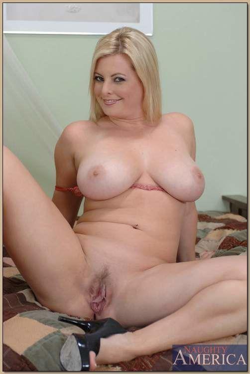 BBW MILF Kala Prettyman brings out big tits and ass from underwear