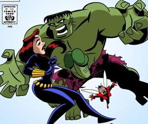 Dirtycomics- The Mighty xXx-Avengers – The Copulation Agenda