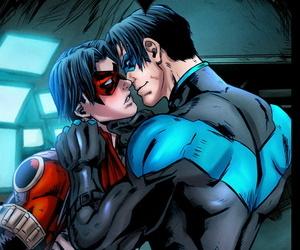 Phausto DC Comics - Batboys 2 Batman Bruce Wayne x Robin Tim Drake x Nightwing Dick Grayson x Red Hood Jason Todd x..