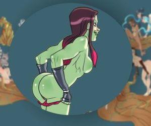 Groot And Avatar Girls