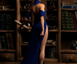Hibbli3D – Sorceress Lori - Sold To Demons - part 3
