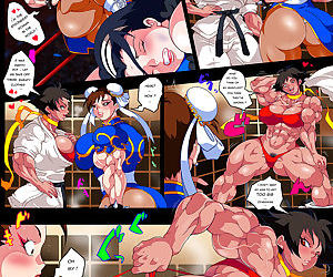 After Fight - ChunLi X Makoto
