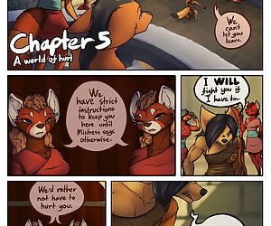 A Tale of Tails: Chapter 5 - A World of Hurt