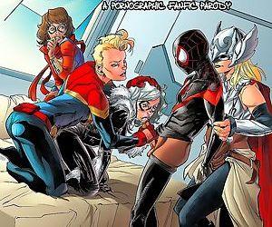 мисс Марвел Человек-паук- Трейси совка
