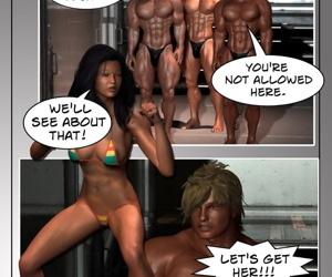 Bikini Battle Babe- You Shall Not Pass