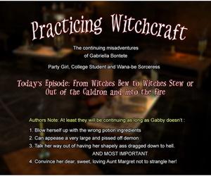Practicing Witchcraft – 3dZen