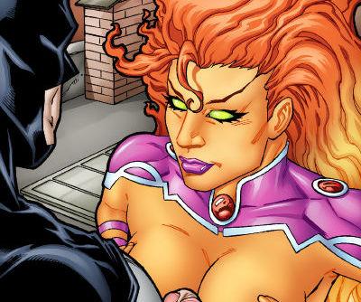 Leandro- Batman and Starfire Have Hot Fuck