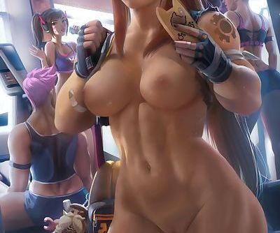 Overwatch gym.