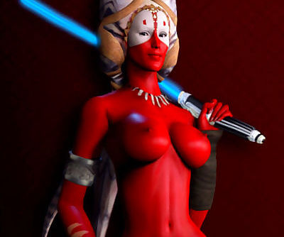 Star Wars: Sexy- Nude Jedi