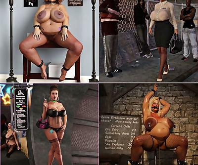 Big tits toon