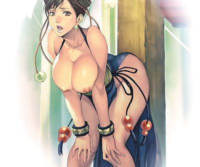 The boobs of Chun-Li.
