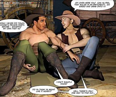 HOW THE WEST WAS HUNG 3D Gay..