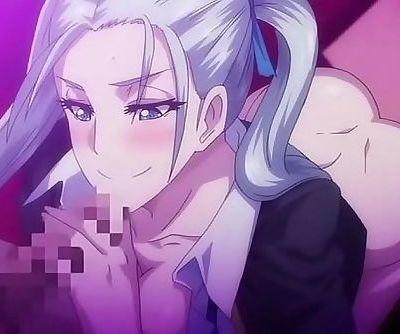 Horny hentai cartoon slut giving..