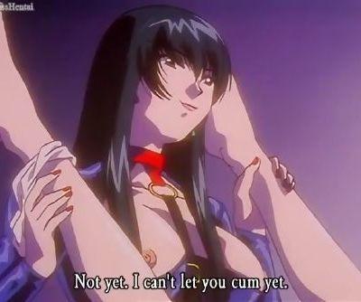 Hentai lesbian postpones her..