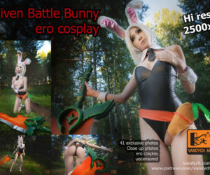 Hi guys Battle Bunny Riven erotic..