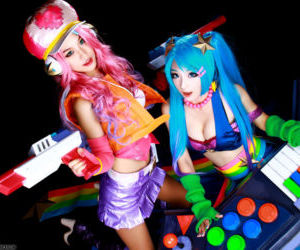 Arcade Sona and Miss Fortune