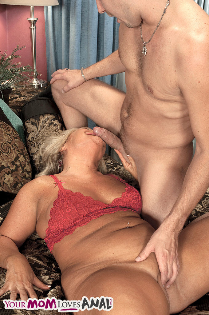 Middle aged plumper orders up a male gigolo for an evening of anal sex action