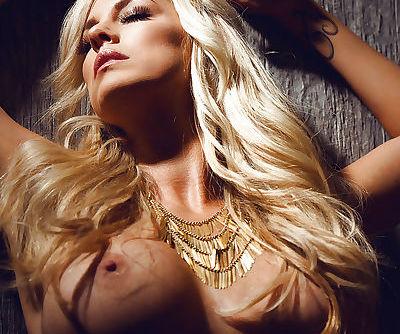 Glamorous blonde..