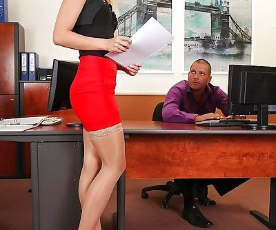 Horny office girl..