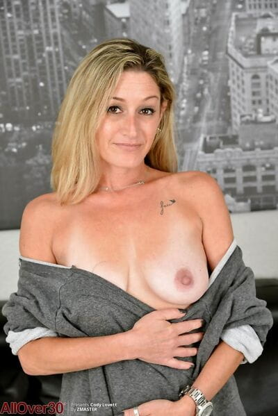 Hot horny blonde mature in heat - part 2