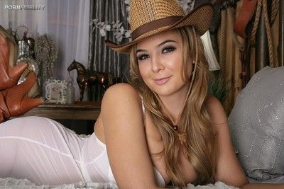 Blair williams is sexy cowgirl