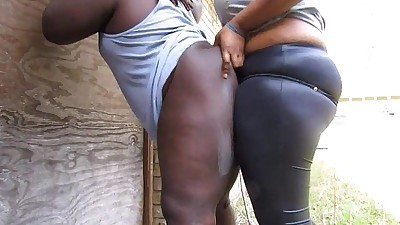 Ebony Summoning Strapon Dick..