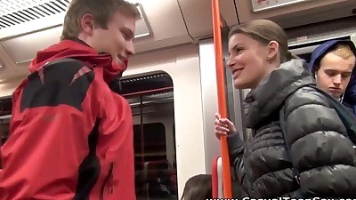 Casual Teen SexFrom a ride to hot..
