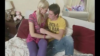 Anal Sex From Amazing Russian Teen