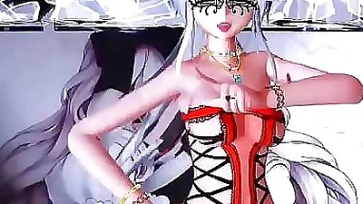 [3DMMD] Girl Tits..