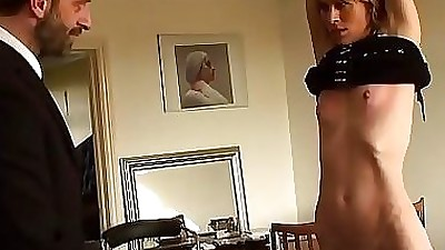 Tied up submissive milf 12 min