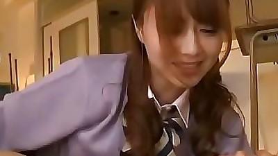 Kinky oriental cutie gives her..