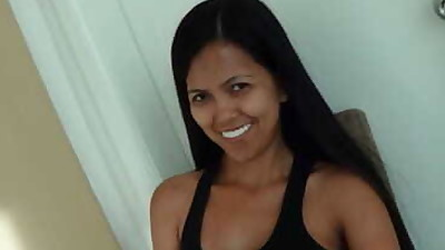 Fresh faced Filipina MILF Leanne..