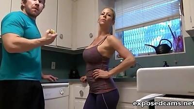 Hot Stepmom fucks Stepson