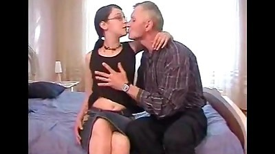 Daddy seduced and fucked young..