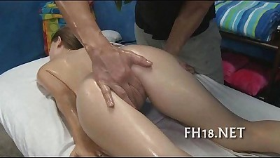 Teenie is riding up penis