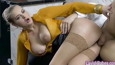 Huge boobs blonde pornstar..