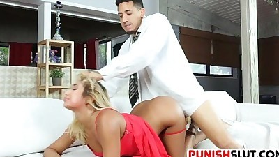 Brat Ally Berry gets whats coming..