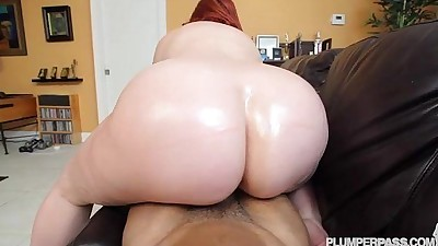 PAWG Marcy Diamond Fucks Big..