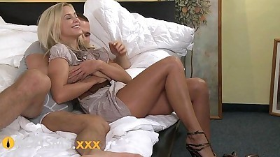 ORGASMS Amazing young blonde..