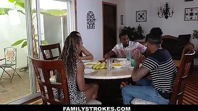 FamilyStrokesFamily Dinner Fuck..