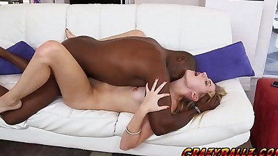 Alexa Grace wanted a black cock..