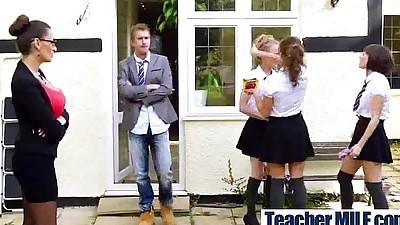 Teacher With Big Melon Tits Love..