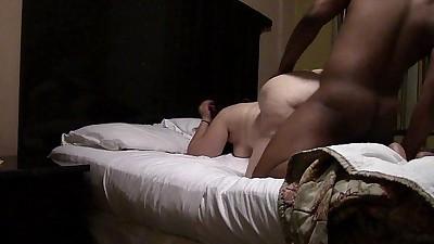 Connie Swings fucks a black cock