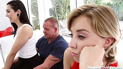 Malina Mars gives her Step Dad..