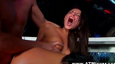 Megan Vale getting ass to mouth..