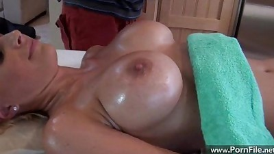 Lexi Busty Blonde Massage part2