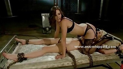 Horny sexy brunette lesbian..