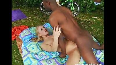 Black Neighbor Fucks White Blonde..